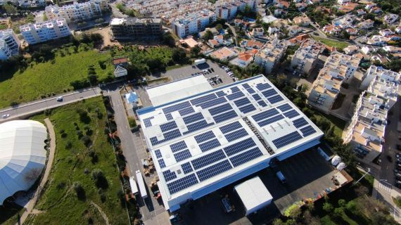 Solar panels at Jerónimo Martins
