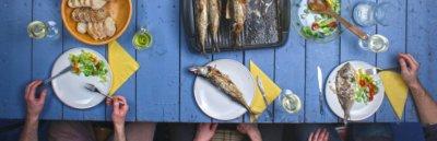 Um dos mandamentos da dieta mediterrânica é o convívio à mesa.