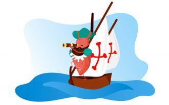 A batata-doce chegou à Europa pela mão de navegadores portugueses do século XVI.
