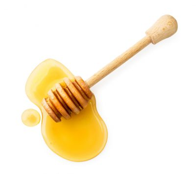 Ingredientes da granola: mel