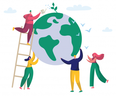 Reducing the ecological footprint is caring for our planet.