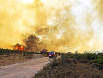 Portugal and Spain are forest fires high risk zones