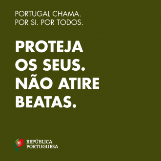 Portugal Chama: proteja os seus, não atire beatas