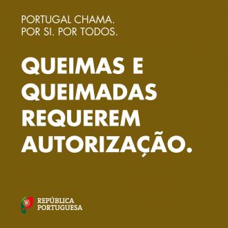 Portugal Chama: queimas e queimadas requerem autorização