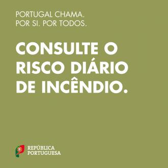Portugal Chama: consulte o risco diário de incêndio
