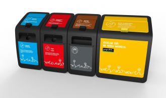 Pingo Doce Recycling Bins 2.0