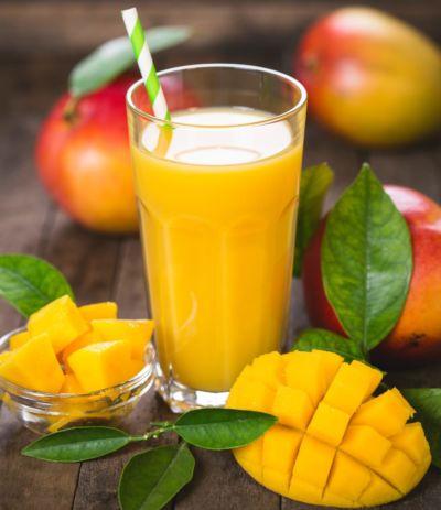 Apple and mango juice