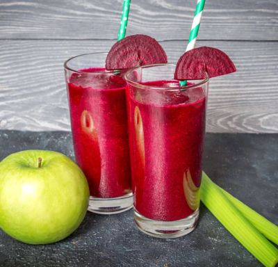 Beetroot and celery juice