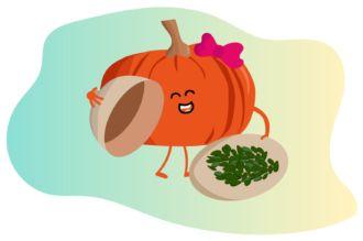 Sementes de abóbora são saborosas e saudáveis.