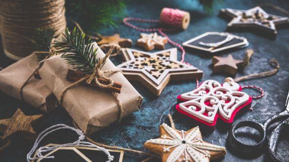 Prendas de Natal sustentáveis