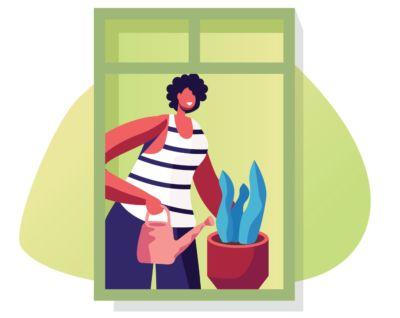 Abril: vou criar uma mini horta caseira.