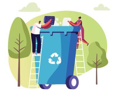 May: I'll maximise recycling at home