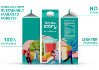 Ecodesign juice carton example