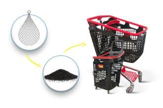 Biedronka new shopping carts