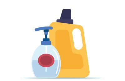 Escolha detergentes e amaciadores concentrados