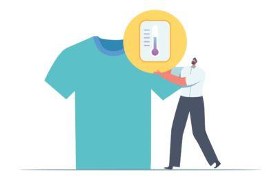 Lave a roupa a baixas temperaturas